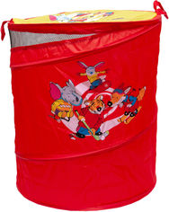 Акция на Бочка для игрушек Devik Play Joy Красная 46х57 см (Т0303B) от Rozetka