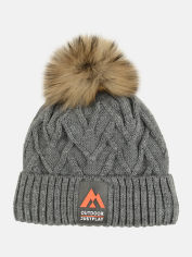 Акция на Зимняя шапка Elf-kids Орегон 50-52 см Серая (ROZ6400026736) от Rozetka