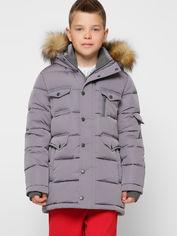Акция на Зимняя куртка X-Woyz DT-8316-4 116-122 см Серая (2000002324508) от Rozetka
