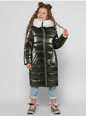 Акция на Зимнее пальто X-Woyz DT-8305-1 110-116 см Хаки (2000002325444) от Rozetka