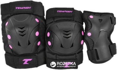 Комплект защитный Tempish Taky размер М Черный/розовый (102000070/pink/M) (8592678087008) от Rozetka