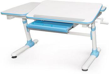 Стол Evo-kids Darwin Blue (арт.Evo-502 B) - столешница белая / вставки голубые от Stylus