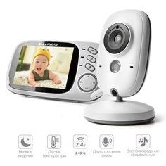"""Акция на Видеоняня  Baby Monitor VB603 с цветным 3.2"""" дисплеем (радионяня) (450020) от Allo UA"""