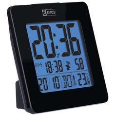 Акция на Электронные LED часы-будильник EMOS (E0113) настольные, с подсветкой и термометром от Allo UA