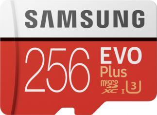 Акция на Samsung 256GB microSDXC Class 10 UHS-I U3 Evo Plus + adapter (MB-MC256HA/RU) от Y.UA