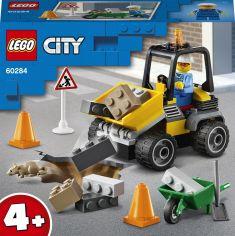 Акция на Конструктор LEGO City Great Vehicles Пикап для дорожных работ 58 деталей (60284) от Rozetka