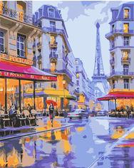 Акция на Картина по номерам Лавка Чудес Вечер в Париже 40 x 50 см (LC30131) (4820176260512) от Rozetka