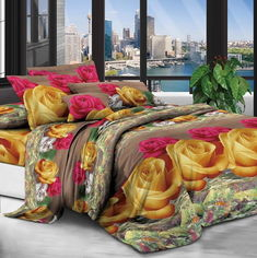 Акция на Комплект постельного белья Modern Микросатин 15-0071 Cardiff King Size (2200002513050) от Rozetka