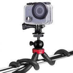 Акция на Гибкий штатив AIRON AC74-2 (L) для экшн-камер GoPro, AIRON, SONY, ACME, Xiaomi, SJCam, EKEN, ThiEYE от Allo UA