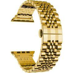 Акция на Ремешок COTEetCI W27 Steel Band Gold for Apple Watch 42/44mm (WH5242-GD) от Allo UA