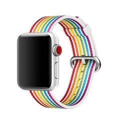 Акция на Ремешок COTEetCI W30 Rainbow Nylon Band For Apple Watch 42mm Rainbow (WH5251-RB) от Allo UA