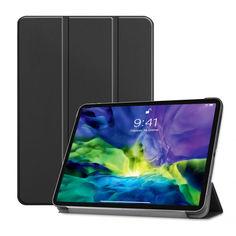 """Акция на Обложка Airon Premium для iPad Pro 11"""" 2020 Black с защитной плёнкой и салфеткой от Allo UA"""