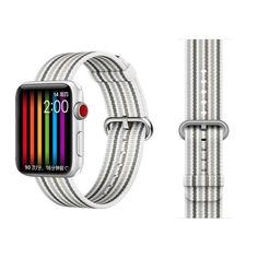 Акция на Ремешок COTEetCI W30 Rainbow Nylon Band For Apple Watch 42mm White-Grey (WH5251-WG) от Allo UA