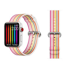 Акция на Ремешок COTEetCI W30 Rainbow Nylon Band For Apple Watch 38mm Pink (WH5250-WP) от Allo UA