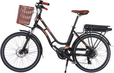 Акция на Электровелосипед TRINX E-Bike Sella 2.0 17 Black (Sella2_17.B) от Rozetka