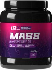 Акция на Гейнер 10X Nutrition Mass Gainer X 907 г Ванильный крем (525272730788) от Rozetka