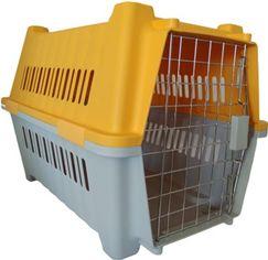 Акция на Переноска для собак Animall 58х40х43 см Р 784 Оранжевая (2000981180089) от Rozetka