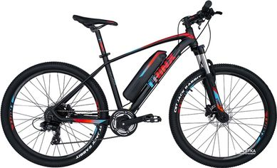 Акция на Электровелосипед TRINX E-Bike X1E 17 Matt-Black-Red-Blue (X1EMBRB) от Rozetka