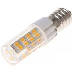 Акция на Лампа светодиодная Brille  E14 6W WW T30 (32-686) от Allo UA