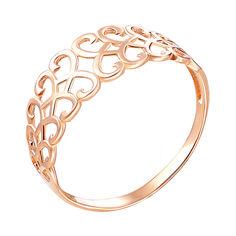 Акция на Кольцо из красного золота 000141187 16 размера от Zlato