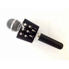 Акция на Микрофон-Караоке Bluetooth WSTER WS-1688 Black от Allo UA