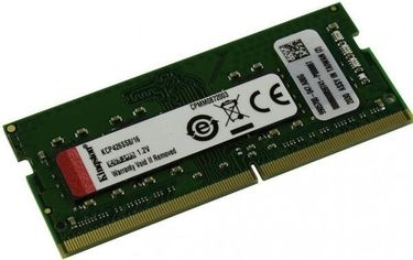 Акция на Память для ноутбука Kingston DDR4 2666 16GB SO-DIMM (KCP426SS8/16) от MOYO