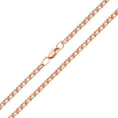 Акция на Браслет из красного золота в плетении арабский бисмарк, 2 мм 000002337 18 размера от Zlato