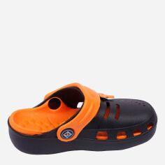 Акция на Кроксы для мальчиков Calypso 20510-005 24 14.5 см Черные с оранжевым (2117658542191) от Rozetka