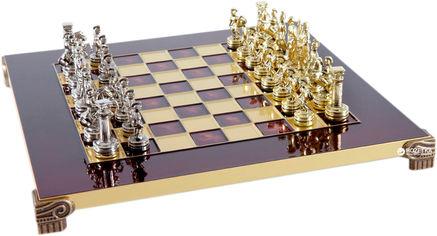Акция на Шахматы Manopoulos Греко-Римский период в деревянном футляре 28х28 см Красные (S3RED) от Rozetka