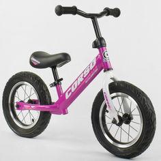 Акция на Велобег CORSO 54307 стальная рама. колесо 12 надувные колёса от Allo UA