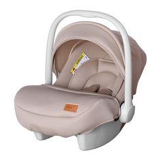 Акция на Автокресло детское для новорожденных CARRELLO Mini CRL-11801/1 Melange Beige группа 0+ от Allo UA