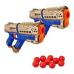 Акция на Игрушечные пистолеты X-Shot Chaos Golden meteor RXB-0060 (36419Z) от Будинок іграшок
