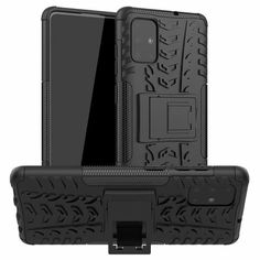 Акция на Чехол Armor Case для Samsung Galaxy A51 Black от Allo UA
