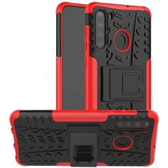 Акция на Чехол Armor Case для Samsung Galaxy A21 Red от Allo UA