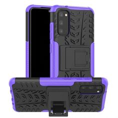 Акция на Чехол Armor Case для Samsung G985 Galaxy S20 Plus Purple от Allo UA