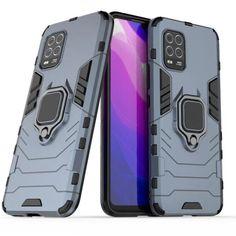 Акция на Чехол Ring Armor для Xiaomi Mi 10 Lite Blue от Allo UA