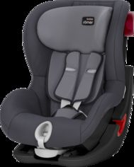 Акция на Автокресло Britax-Romer King Ii Black Series Storm Grey от Stylus
