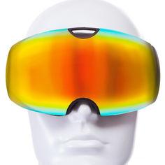 Акция на Лыжная маска SPOSUNE (панорамная) HX036 (черный-оранжевый) (900015626) от Allo UA