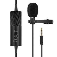 Акция на Петличный конденсаторный микрофон Soncm R955S Black от Allo UA