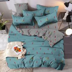 Акция на Комплект постельного белья MirSon Бязь Premium 17-0345 Astana 143х210х2 (2200002607438) от Rozetka