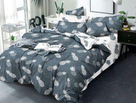 Акция на Комплект постельного белья MirSon Бязь Premium 17-0339 Brunei 200х220 (2200002606424) от Rozetka