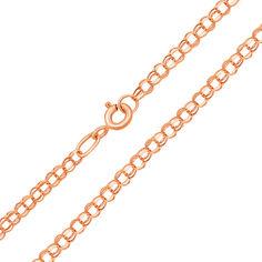 Акция на Цепь из красного золота в плетении бисмарк 000103585 60 размера от Zlato