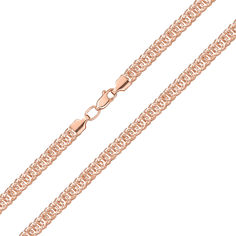 Акция на Цепочка из красного золота в фантазийном плетении 000143840 60 размера от Zlato