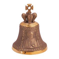 Акция на Бронзовый именной колокольчик Св. Сергий от Zlato