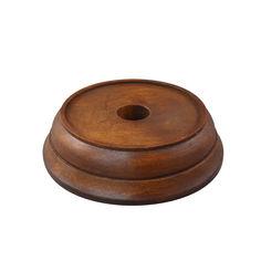 Акция на Деревянная круглая подставка под колокольчик, d100 000018872 от Zlato