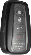 Акция на Чехол для автоключа LaManche Toyota Black (TYT-A01K_blk) от Rozetka