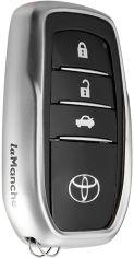 Акция на Чехол для автоключа LaManche Toyota Silver (TYT-A01K_slv) от Rozetka