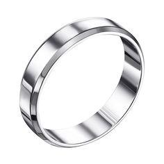 Акция на Серебряное обручальное кольцо 000119332 21.5 размера от Zlato