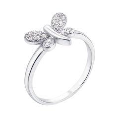 Акция на Серебряное кольцо с фианитами 000136063 18 размера от Zlato