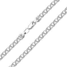 Акция на Серебряный браслет в плетении бисмарк 000140057 19.5 размера от Zlato